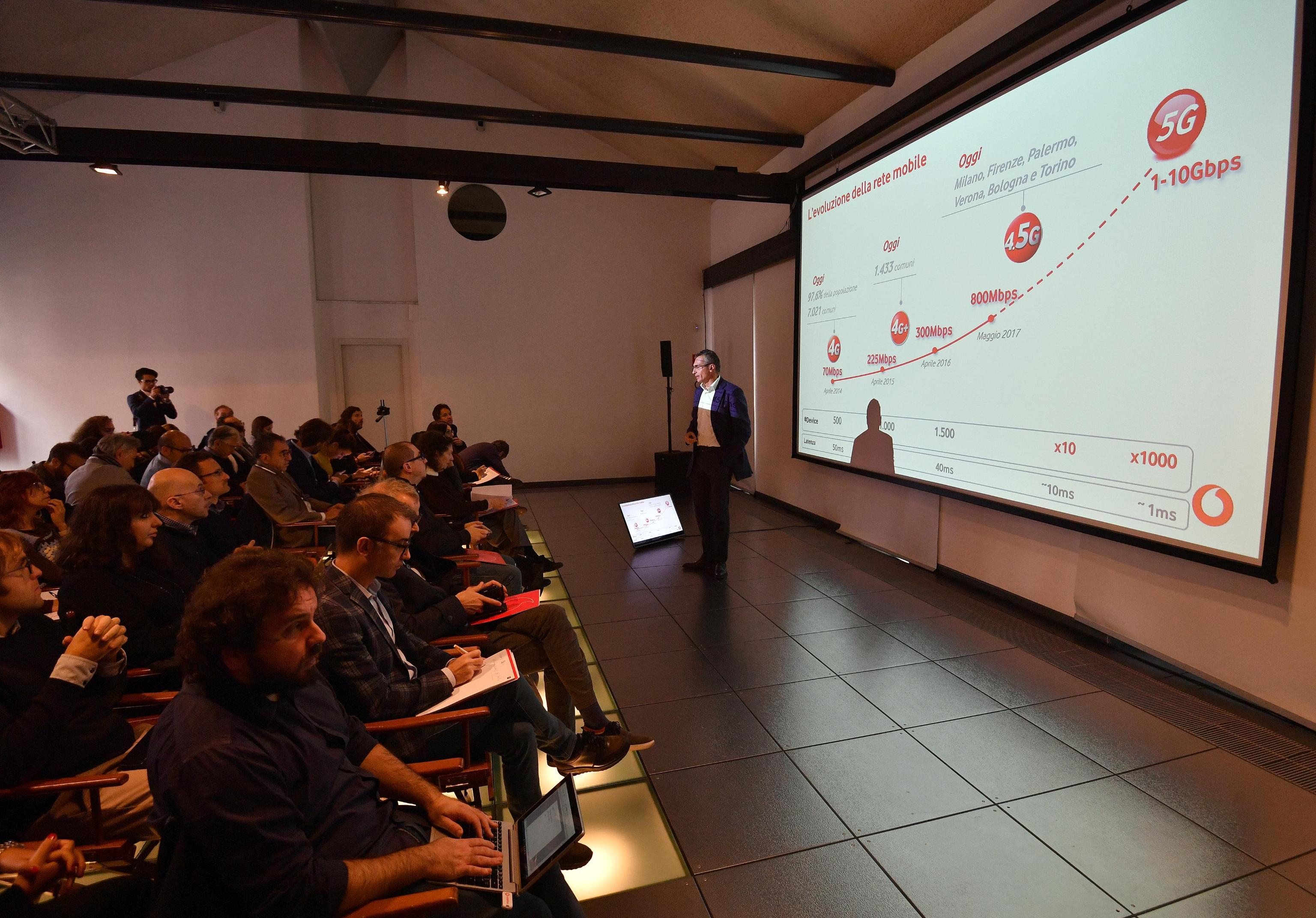 Vodafone: IoT vola in Italia, +30-40%