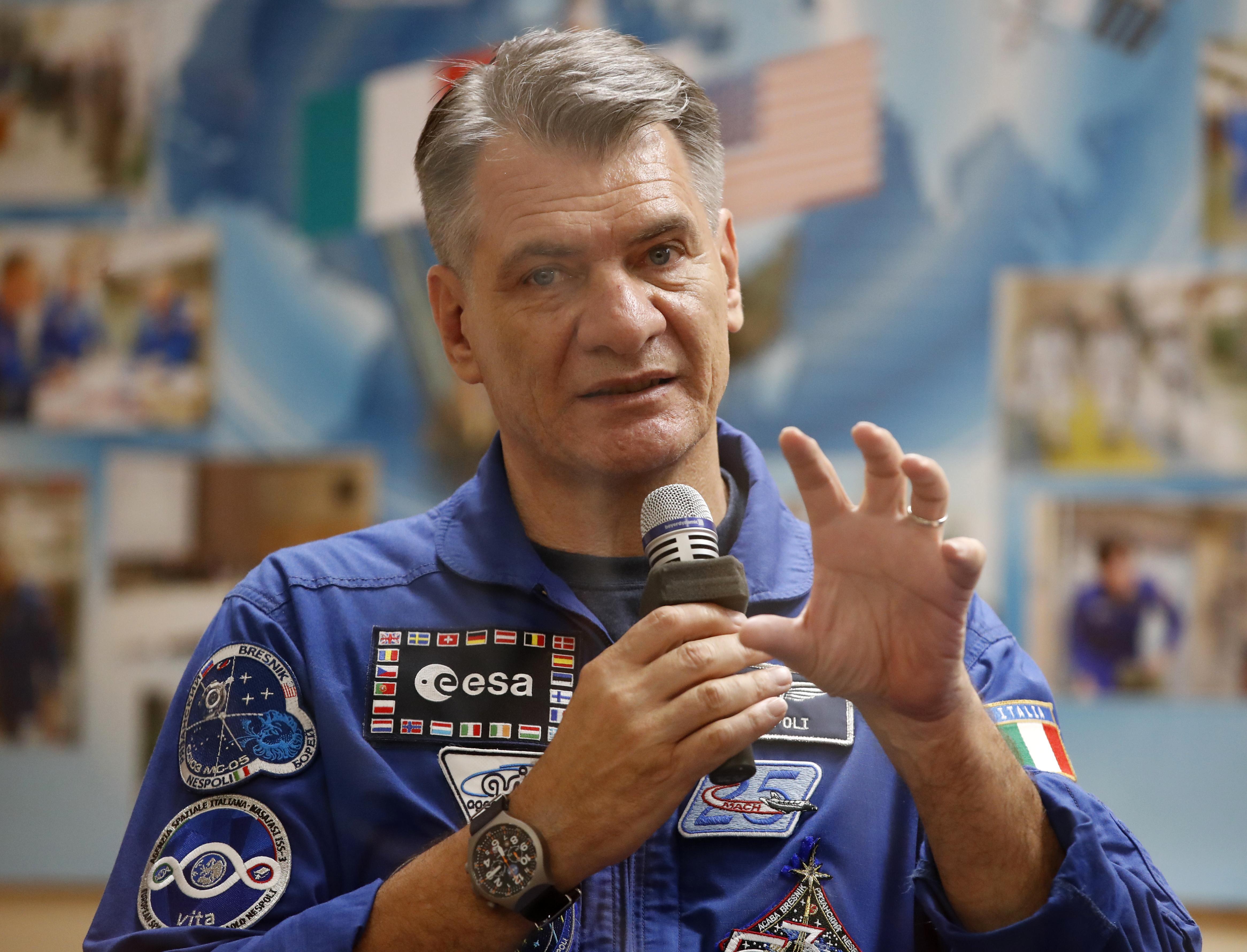 Contributo dallo spazio su Wikipedia