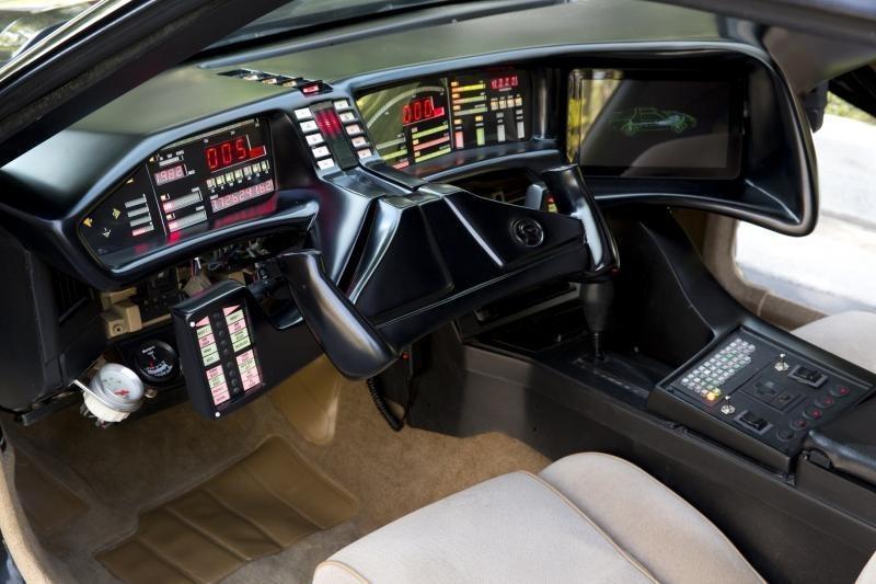 Auto del futuro come Kitt di Supercar