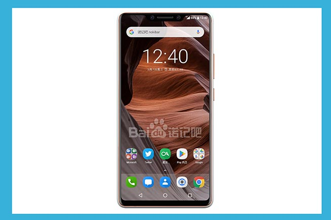 Nokia 9 con il notch