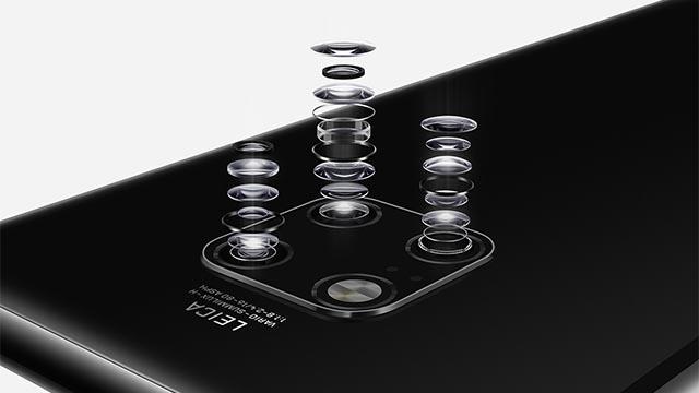 Tripla fotocamera Huawei Mate 20 Pro