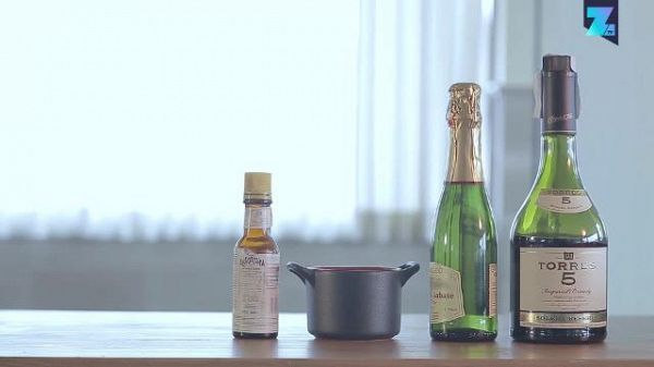 Cocktail in 60 secondi: Champagne Cooler