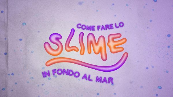 Come fare lo slime - in fondo al mar