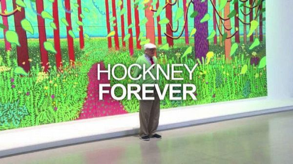 David Hockney regala uno dei suoi maxi quadri al Centre Pompidou