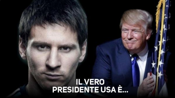 Messi for president! In USA c'è chi lo ha votato