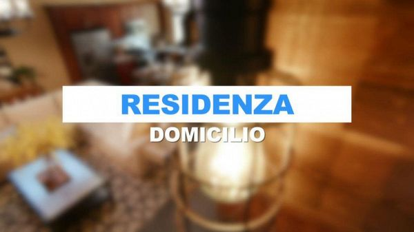 Che differenza c'è fra residenza e domicilio?