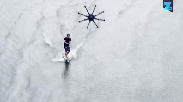 Surfare...trainati da un drone!