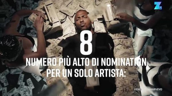 MTV Video Music Awards: ecco tutti i numeri dello show