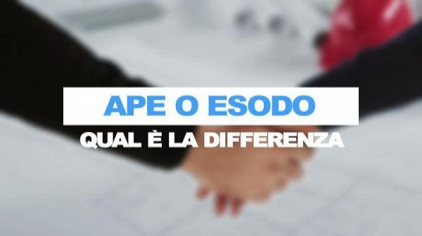 Ape o esodo, qual e' la differenza?