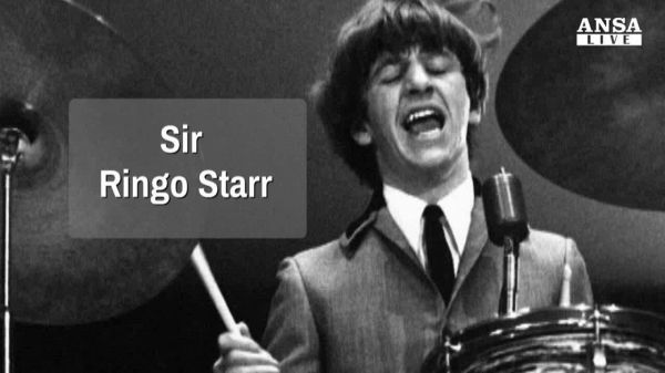 Ringo Starr, Sir come McCartney