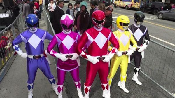 I Power Rangers conquistano la Walk of Fame di Hollywood