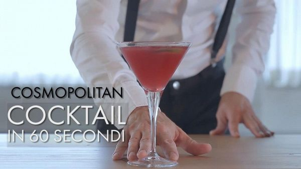 Cocktail in 60 secondi: Cosmopolitan