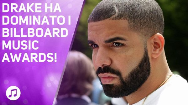Drake fa un nuovo record ai Billboard Music Awards!