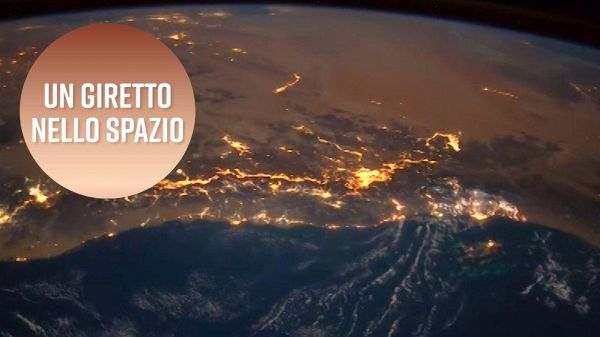 Un video spaziale: la Terra come non l'avete mai vista