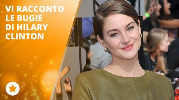 Convention democratica shock! Shailene denuncia che...