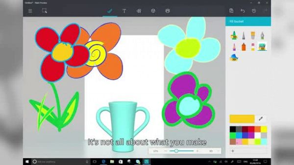Microsoft Paint app for Windows 10