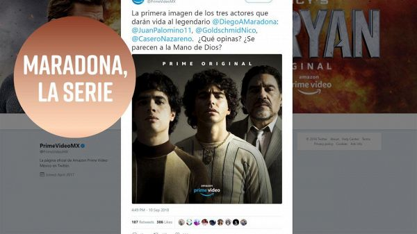 Amazon Prime Video ha annunciato una serie TV su Maradona