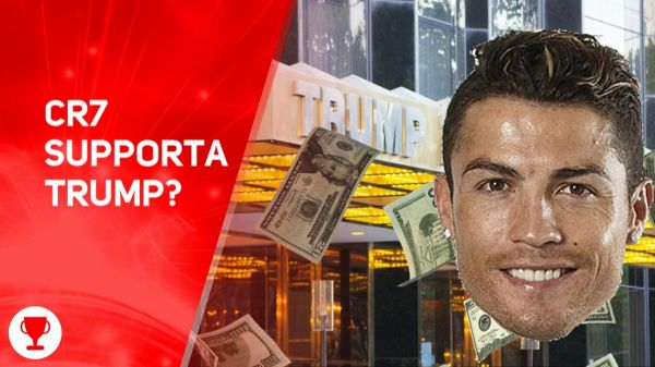 'Cristiano Ronaldo, vai via dalle Trump Tower'