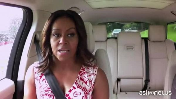 Michelle Obama canta Beyonce al Carpool karaoke