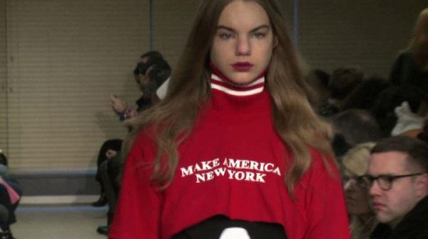 La politica anti-Trump si fa sentire alla New York fashion week
